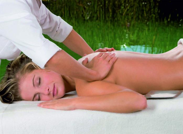 Basische Salz-Öl-Massage